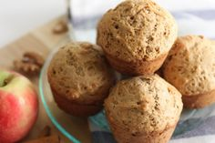 Cinnamon applesauce muffin recipe