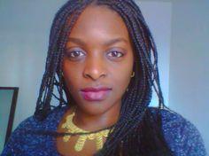 #AfricainBeauty #Mali #SansPression #Collier #MakeUpSoft #Braid #Home #Natural