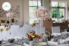 Glamour Wedding,Black&white,Table decor / Wesele galmour,Czarno-biały, Dekoracja stołów, Anioły Przyjęć