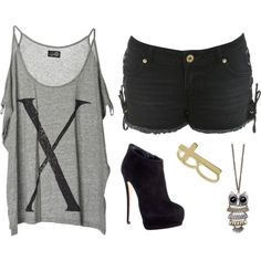 """""""hipster."""" by hipster-fashion on Polyvore but wouldnt really wear the shoes as much tho"""