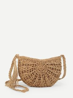 To find out about the Tassel Detail Straw Bag at SHEIN, part of our latest Crossbody ready to shop online today! Vintage Bags, Vintage Handbags, Popular Handbags, Boho Bags, Style Casual, Satchel Purse, Cute Bags, Small Bags, Elegant