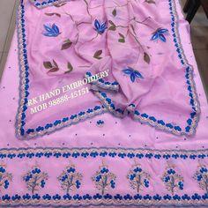 Designer Punjabi Suits, Hand Embroidery, Hands, Instagram