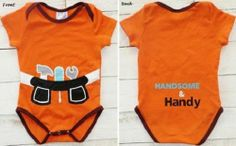Handsome and Handy Toolbelt Onesie  Super cute!  Sass N Frass has a boy and girl clothes, hats and more!