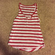 Striped tank No flaws. Cute with shorts and sandals over the summer! Express Tops Tank Tops