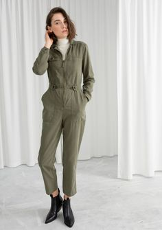 Fashion's latest foray into practicality comes in the form of the boiler suit – an all-in-one look that's perfect for quick and easy dressing. Saint Laurent Paris, Citizens Of Humanity, Reclaimed Vintage, Boiler Suit, Womens Fashion For Work, Ladies Fashion, Curvy Fashion, Women's Fashion, Fashion Clothes