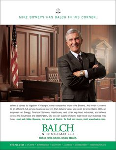 Balch Spotlight Office Ads  - law firm marketing print advertisement Fishman Marketing
