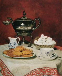 Jean-Étienne Liotard - Still Life: Tea Set 1781-1783