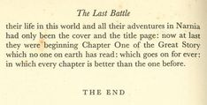 I truly love this. Mr. Lewis has always been one of my great inspirations. But his creation of The Chronicles of Narnia have been a huge part of who i am. His mission was to bring Glory to God and he has done just that.