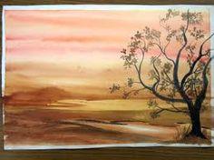 watercolour landscape - Google Search