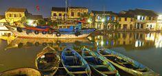 De oude haven van Hoi An, een schitterend, historisch plaatsje dat al van groot belang was tijdens de zijderoute. Bezoek Hoi An met een van onze rondreizen! Rondreis - Vakantie - Vietnam - Hoi An - Haven - Historisch centrum - Original Asia
