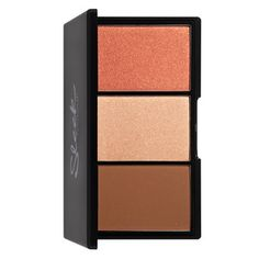 Sleek MakeUP Blush By 3 Pumpkin contains 3 complementary, vibrant shades in a handbag friendly compact. Sleek MakeUP Blush by 3 in Pumpkin is the perfect addition to any ladies makeup bag as it contains 3 vibrant shades perfect for day & night. Compact, Wholesale Makeup, Different Skin Tones, Sleek Makeup, Highlighter Makeup, Highlighters, Bronzer, Beauty Products, Paintings