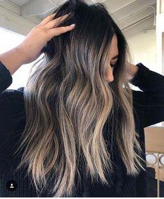 ❥ᴾᴵᴺᵀᴱᴿᴱˢᵀ: ᴰᶻᴱᴱᵞᵞ #brunettebalayagehair Hair 2018, Hair Color 2018, Brunette Hair, Brunette With Blonde Balayage, Blonde Hair, Dark Red Brown Hair, Brown Highlighted Hair, Light Brown Highlights, Baby Highlights