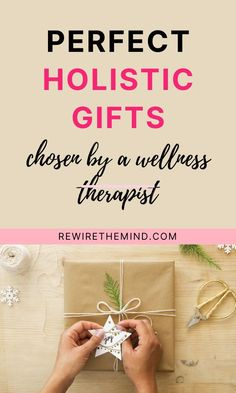 Looking to buy someone the perfect present this holiday season? Take a look at our holistic gift ideas to choose the perfect present to soothe mind, body and spirit. Mental health gift guides and holistic living presents to spark joy and happiness. #holisticgifts #holisticgiftideas #holisticwellness #holisticpresents #mentalhealthgifts