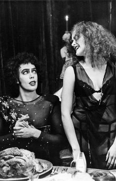 Tim Curry and Patricia Quinn.