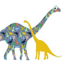 baby boy nursery dinosaur art print dinosaur by OzscapeDesigns, $18.75