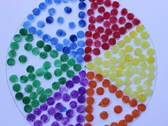 If your child loves to paint or is learning his colors, then this Bottle Top Color Wheel is a fun (albeit bit messy) way to introduce your youngster to a kaleidoscope of colors!