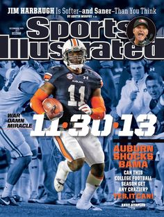The Kick Six on Cover of Sports Illustrated