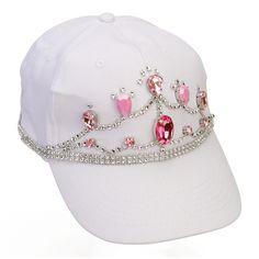 Nicole™ Crafts White Tiara Cap #fashion #craft