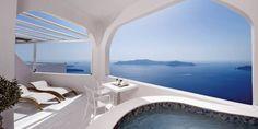 Superior suite at the Gold Suites - Santorini