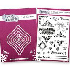 Creative Dies & Stamps Christmas Ornament Bundle - CraftStash