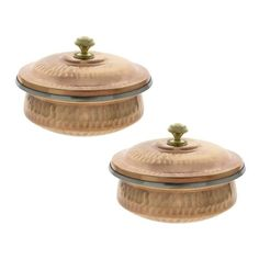 Dinnerware Indian Set of 2 Serving Bowl Copper Tureen with Lid 700 Ml ShalinIndia http://www.amazon.com/dp/B00CQ45R8I/ref=cm_sw_r_pi_dp_njoSvb0N1B3WW