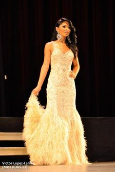 FAN PHOTO!!  One of the lovely delegates of the Miss RDUS Competition stunned in her gorgeous Terani Couture gown!!  [Photo Credit: PageantPlanet.com]