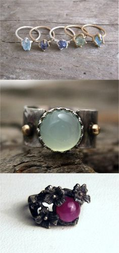 Beautiful gemstones never go out of style! | Made on Hatch.co