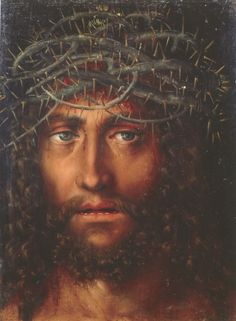 Cranach's Christ's Head with Crown of Thorns (c.1520-25)