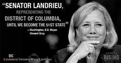 This Louisiana Democrat thinks L̶o̶u̶i̶s̶i̶a̶n̶a̶ DC NEEDS a voice in DC! #nola #neworleans #batonrouge #lafayette #republican #democrat #gop #conservative #politics #senate #congress