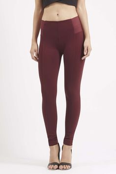 Photo 3 of **Elasticated Ribbed High Rise Leggings by Rare