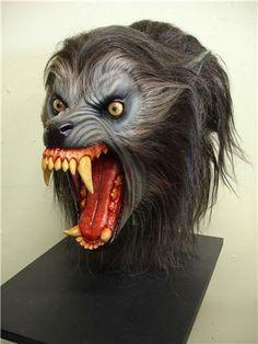 'American Werewolf In London Wolf Head  AWIL Movie Prop' by mageefx   eBay. An American Werewolf in London (1981) ♥ #horror #werewolves #horrormovies