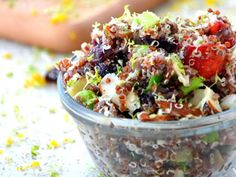 Honey Strawberry Quinoa Salad | Healthy Eats – Food Network Healthy Living Blog My friend made this and oh my, it was utterly delish!