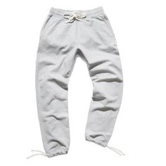 "100% Cotton  Premium rib crotch gusset Natural drawcord  Machine washable  Reigning Champ is a brand dedicated to perfecting every guy's favorite go-to essentia Not a big fan of the ""sweat pants"" but I'll admit these are pretty nice. I like the bottom cord ties(sb)"