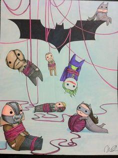 Dark Knight trilogy pic by mookdaruch