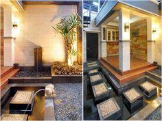 desain mushola mungil di teras belakang rumah   rumah