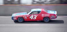 Richard Petty Dodge Charger 1972 Michigan Speedway