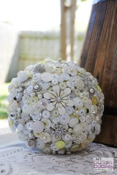#simple, #subtle and #elegant colors were used in this #stunning #buttonbouquet  #alternativebouquet #stunning #buttons #sparkles #alternative #wedding #bride #instaweddings #handmade #love #weddingparty #celebration  #bridesmaids #happiness #unforgettable #forever #ceremony #romance #marriage #weddingday #flowers #buttonbouquets #australia  www.nicsbuttonbuds.com.au www.facebook.com/nicsbuttonbuds www.pinterest.com/nicsbuttonbuds www.instagram.com/nicsbuttonbuds…