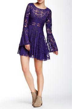 Love this Plum Lovers Folk Dress