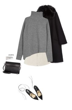 """Sin título #105"" by vnezya ❤ liked on Polyvore featuring Topshop, Joseph, Alexander Wang and Topman"