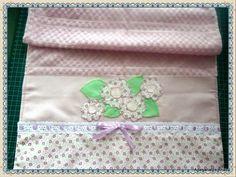 Artesanatos Ana Lu - toalha de lavabo