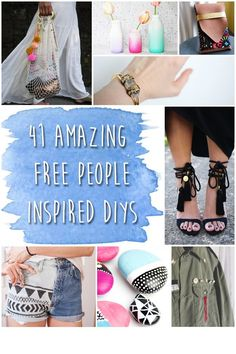 How to look like you stepped out of a Free People catalog...the DIY way!