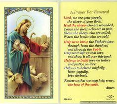 Prayer for Renewal