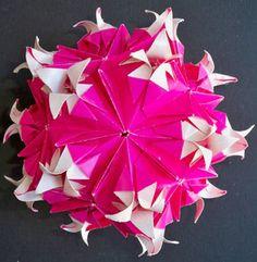 Pomegranate Flower (Kusudamateur) Tags: kusudama