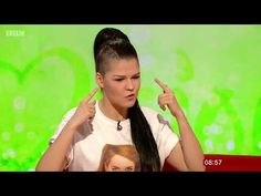 Saara Aalto talking about her Eurovision plans, languages and life in general on the BBC Breakfast show.