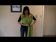 This video shows a variation on front wrap cross carry that has two horizontal passes that can be independently tightened. This variation allows for twins to be wrapped in one long wrap, with a separately tightened pouch for each twin. This can be done with a woven wrap or stretchy wrap and shows variations for woven wraps and for stretchy wraps. *THE PROPER WAY