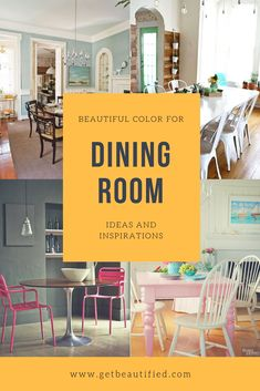 Our dining room color ideas gallery includes our most preferred color design. From contemporary to standard, obtain motivated by these stylish dining-room paint color. #diningroom#paint#color#ideas#design#wall#table