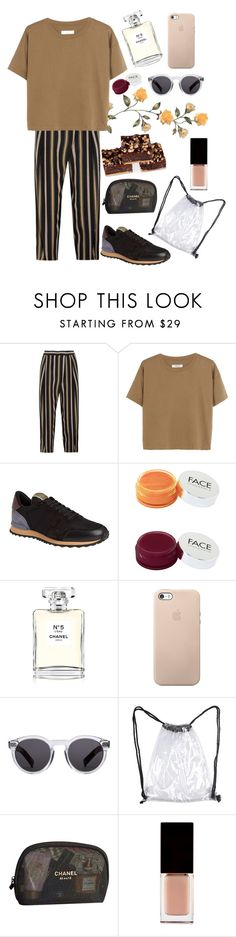 """Untitled #113"" by lazy-seal ❤ liked on Polyvore featuring Chloé, Madewell, Valentino, FACE Stockholm, Chanel, Illesteva, Serge Lutens and We Take the Cake"