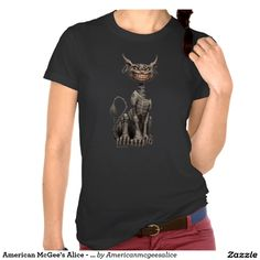 Amerikaner McGees Alice - Cheshire-Katze T-shirt