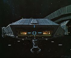Ralph McQuarrie's Battlestar Galactica concept art Star Wars Poster, Star Wars Art, Star Trek, 70s Sci Fi Art, Sci Fi Tv, Fiction Movies, Science Fiction Art, Kampfstern Galactica, Battlestar Galactica 1978