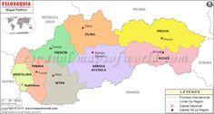 Eslovaquia Mapa